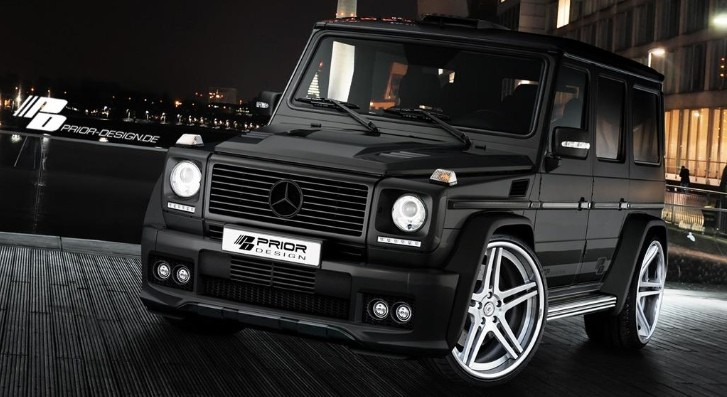 How to Make a Mercedes G-Class Useless, by Prior Design