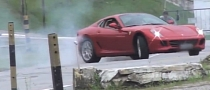 How To Make a Series of Ferrari 599 Drifts Look Boring [Video]
