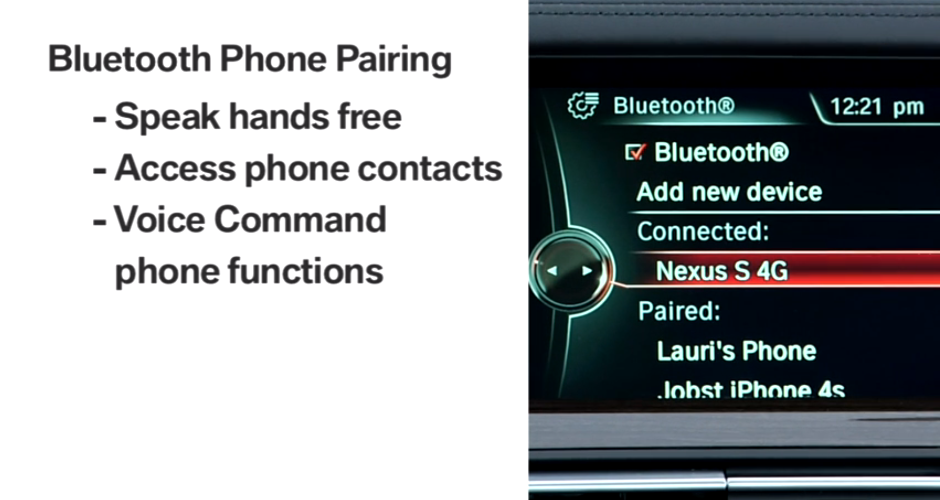How to Pair an Android Phone via Bluetooth to Your BMW