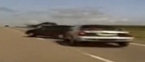 American Dash Cam Video: Hot Pursuit Ends with PIT [Video]