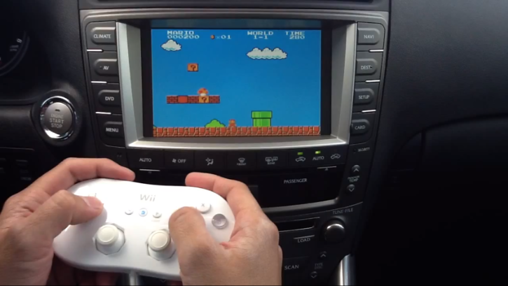 How to Play Games on Lexus Navigation System [Video]