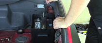 How to Relocate the Battery on Mk3 Toyota Supra [Video]