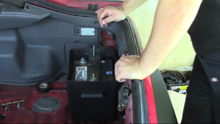 How to Relocate the Battery on Mk3 Toyota Supra ...