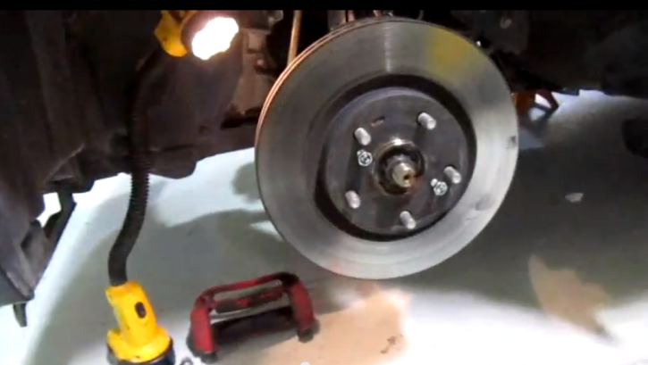 How To Remove Brake Rotors On 2011 Scion Tc Autoevolution