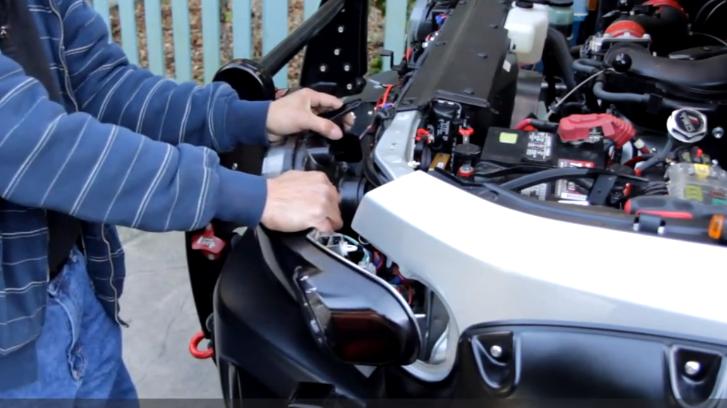 How To Remove Headlamp On 2007 Toyota Fj Cruiser