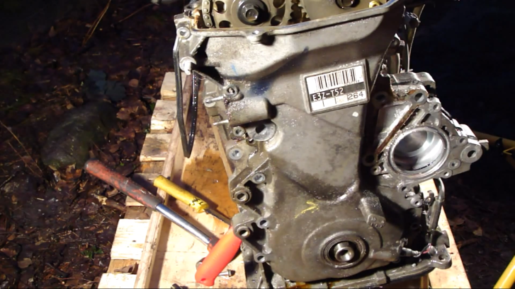 How To Remove Timing Chain Cover On Toyota Vvti Engine Video