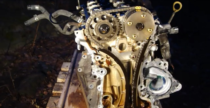 How To Remove Timing Chain On Toyota Vvti Engine