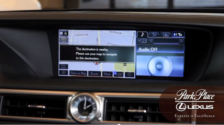 How to Set Destination on 2013 Lexus [Video]