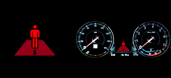 How to Use BMW's Pedestrian Detection System - autoevolution