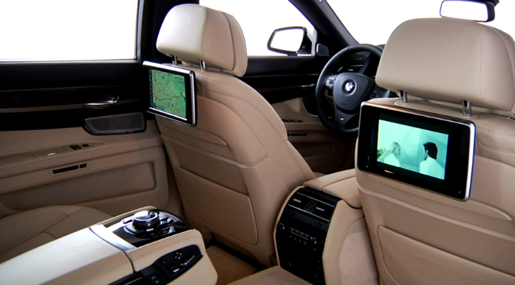 How to Use BMW's Rear Seat Entertainment System [Video]