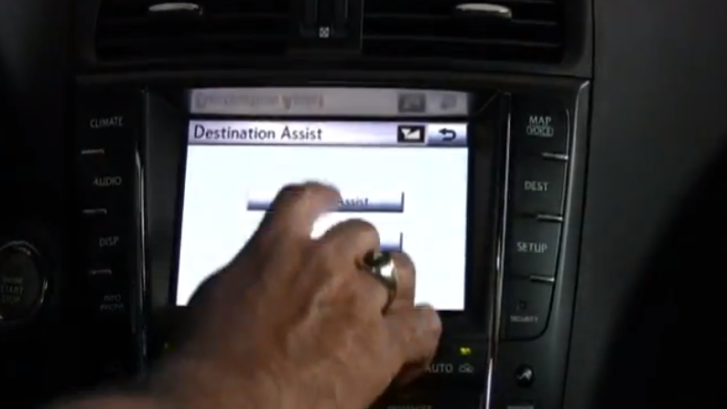 How to Use Lexus Destination Assist [Video]