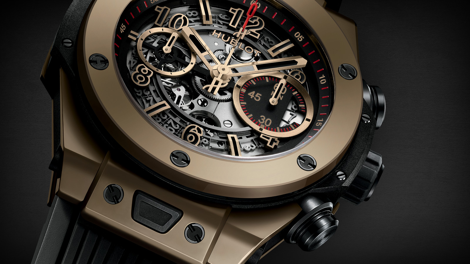 hublot unveils the world s first made of scratch resistant gold