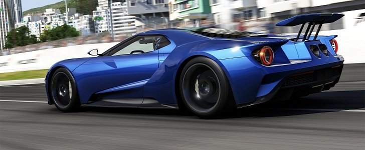 Huge Active Rear Wing of 2017 Ford GT Seen for the First ...