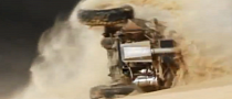 Huge Rollover Accident at Tal Mireb Sand Race [Video]