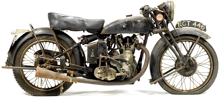 are vintage motorcycle pictures  Huge Vintage Motorcycle Collection Auctioned on 20 October ...