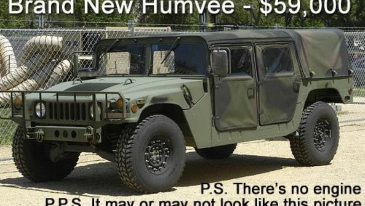 Humvee Kit Car Coming from AM General