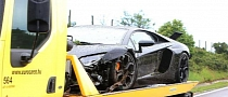 Hungarian Football Player Wrecks Lamborghini Aventador