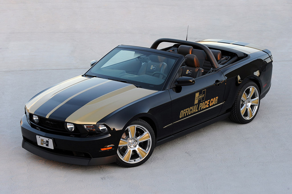 Hurst Ford Mustang Challenge Pace Car Already on the Track - autoevolution