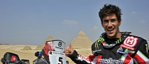 Husqvarna Wins 2012 Pharaons Rally with Joan Barreda