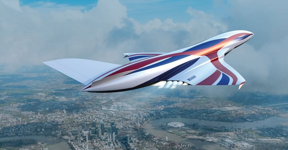 London to Sydney in less than 5 hours with SABRE rocket plane