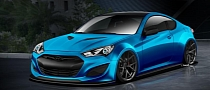 Hyundai Announces New Genesis Coupe Concept for SEMA 2013