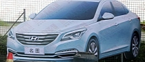 "Hyundai ""Baby Sonata"" Leaked Ahead of Shanghai Debut"