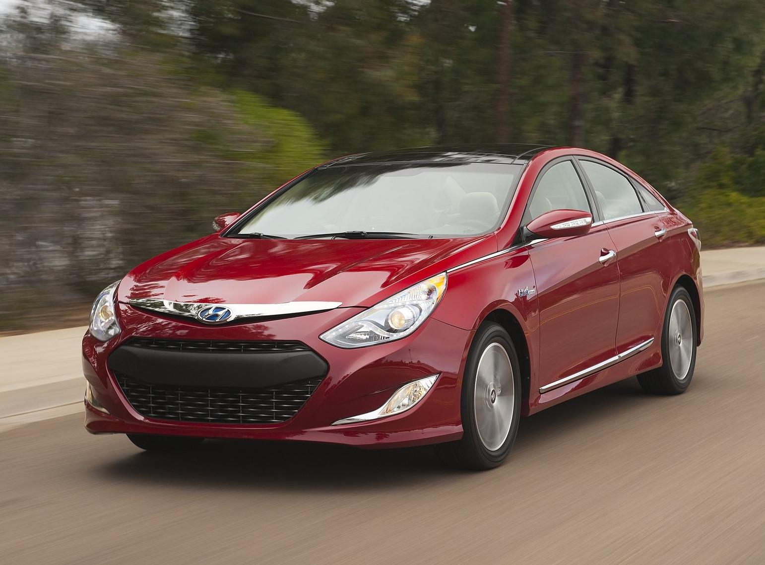 Hyundai Could Build Plug-in Sonata - autoevolution