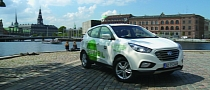 Hyundai Delivers First Hydrogen-Powered ix35 Vehicles in Europe