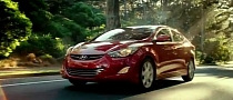 Hyundai Elantra Does Car of the Year Victory Lap for Super Bowl [Video]