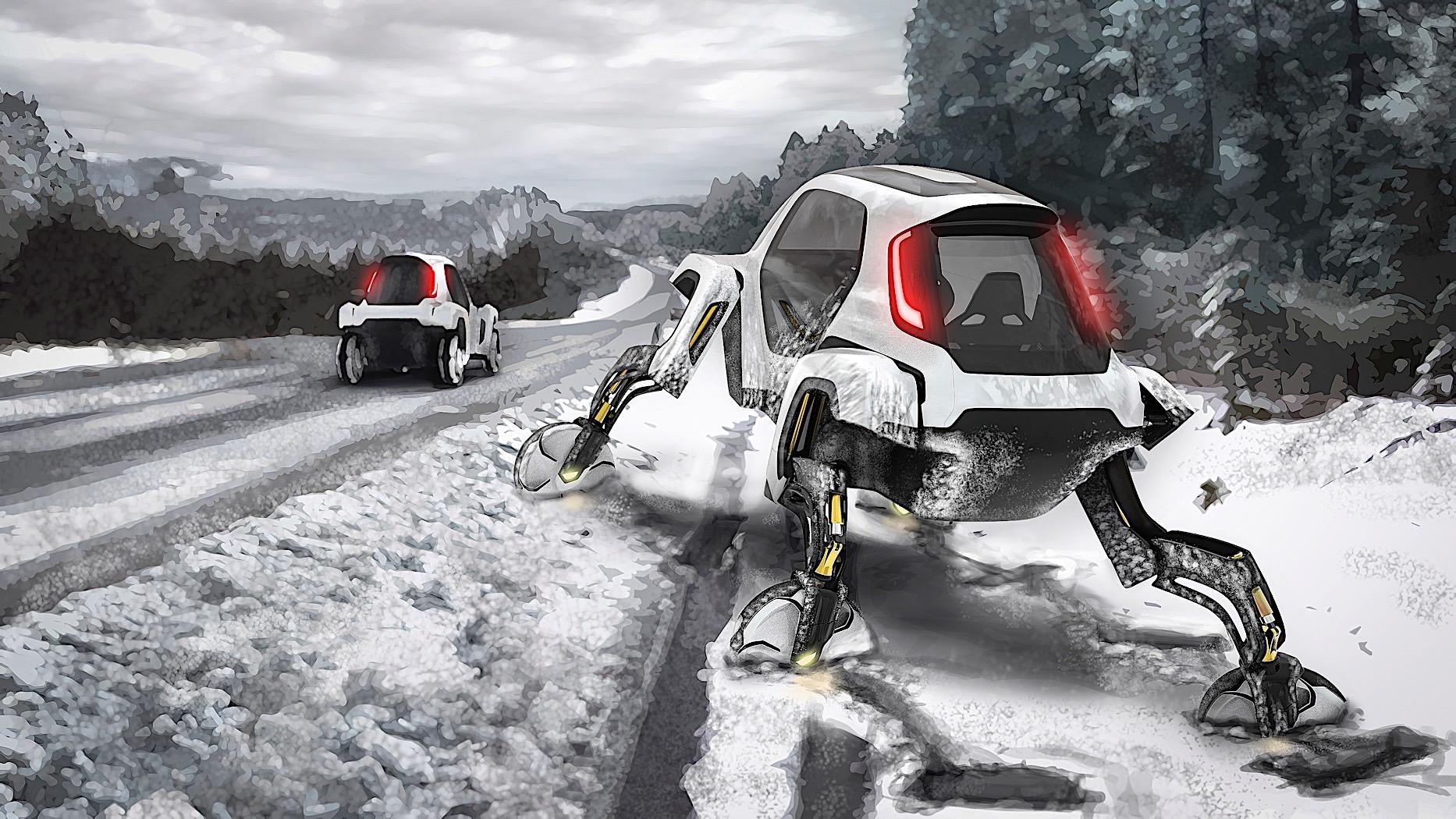 Hyundai Elevate Concept Can Walk Like A Reptile  Switch