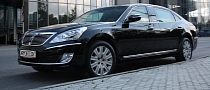 Hyundai Equus Limousine Security Coming to Moscow Motor Show
