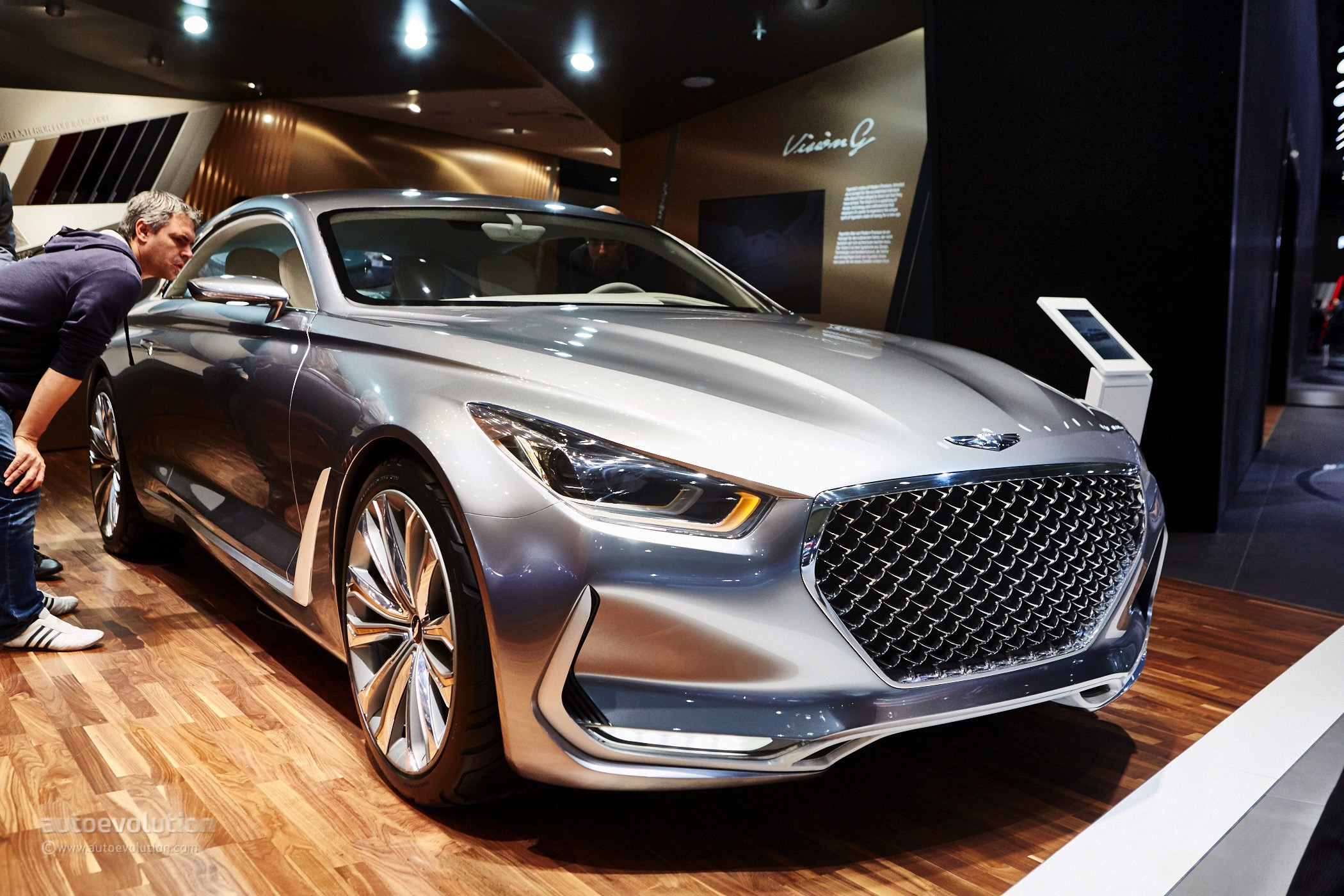 Hyundai Eyes The S Class Coupe In Frankfurt With The
