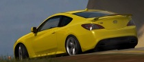 Hyundai Genesis Coupe in Forza Motorsport 3