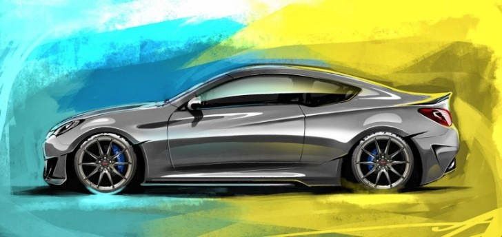 Hyundai Genesis Coupe Legato Concept Announced for SEMA
