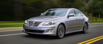 Hyundai Genesis Sedan Gets New 5.0-Liter V8 in Australia