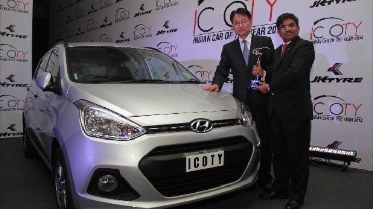 hyundai grand i10 wins 2014 indian car of the year award autoevolution. Black Bedroom Furniture Sets. Home Design Ideas