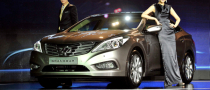 Hyundai Grandeur Officially Launched in Korea