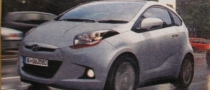 Hyundai Green Baby, First Photo of the iQ Challenger?