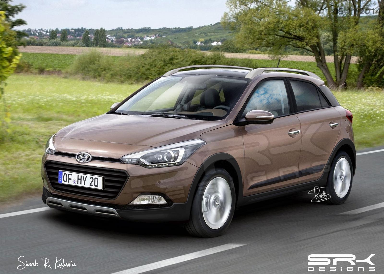 Hyundai I20 Cross Surfaces Ahead Of 2015 Debut