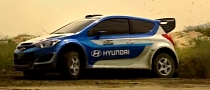 Hyundai i20 Takes WRC Steroids [Video]