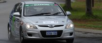 Hyundai i30 Enters QUIT Targa West 2010 Rally