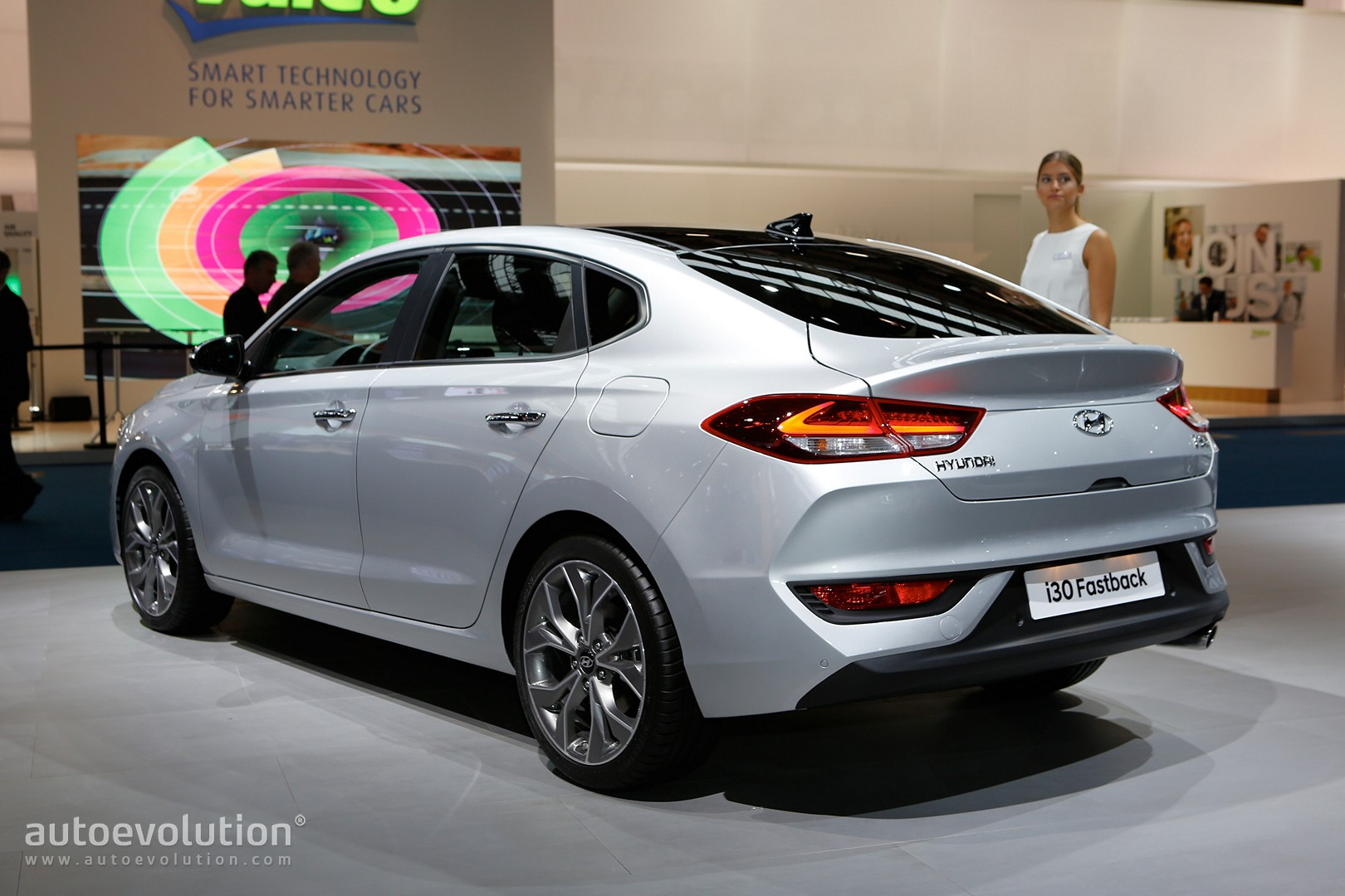 Hyundai I30 Fastback Is Not A Mustang In Frankfurt