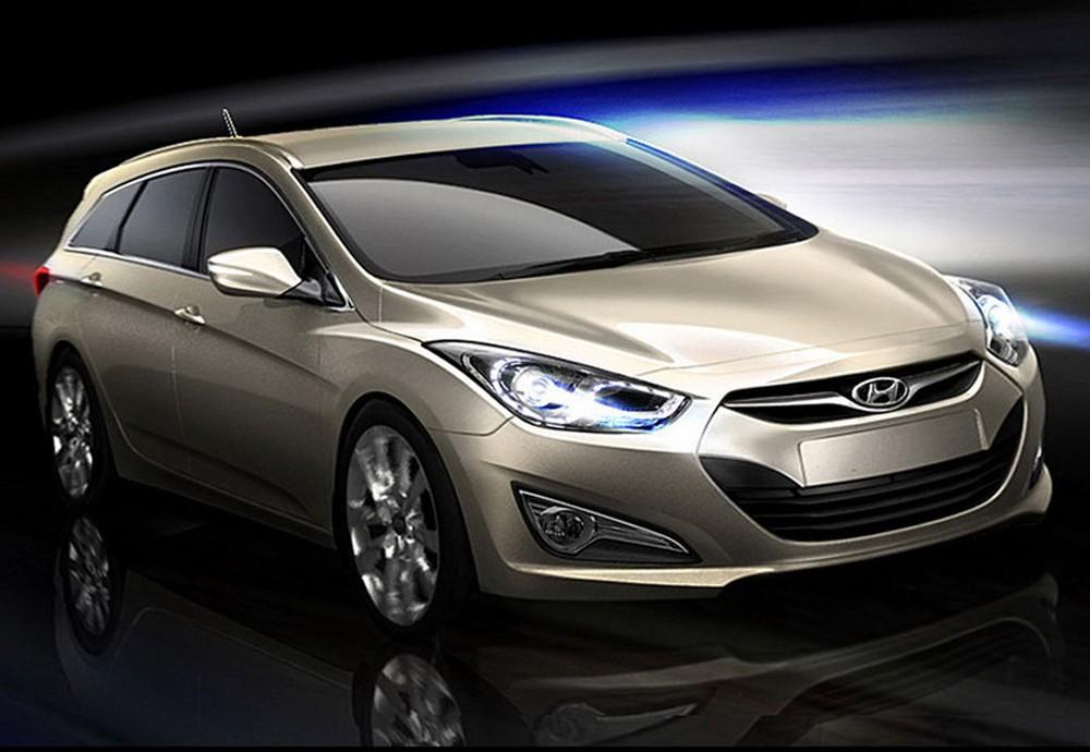 hyundai i40 blue drive to debut at geneva motor show. Black Bedroom Furniture Sets. Home Design Ideas