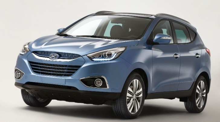 Hyundai ix35 Facelift First Photo