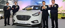 Hyundai ix35 Fuel Cell Vehicle Enters Production