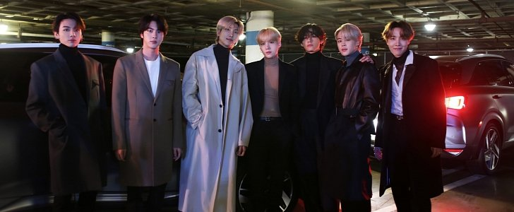 hyundai nexo drives bts to the 2020 grammys for historic performance autoevolution hyundai nexo drives bts to the 2020