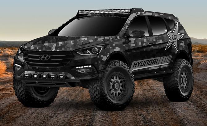 Hyundai Santa Fe Sport concept arrives in time for SEMA