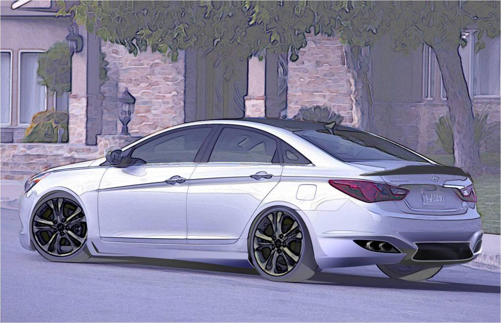Hyundai Preparing Custom Sonata Turbo For Sema Autoevolution
