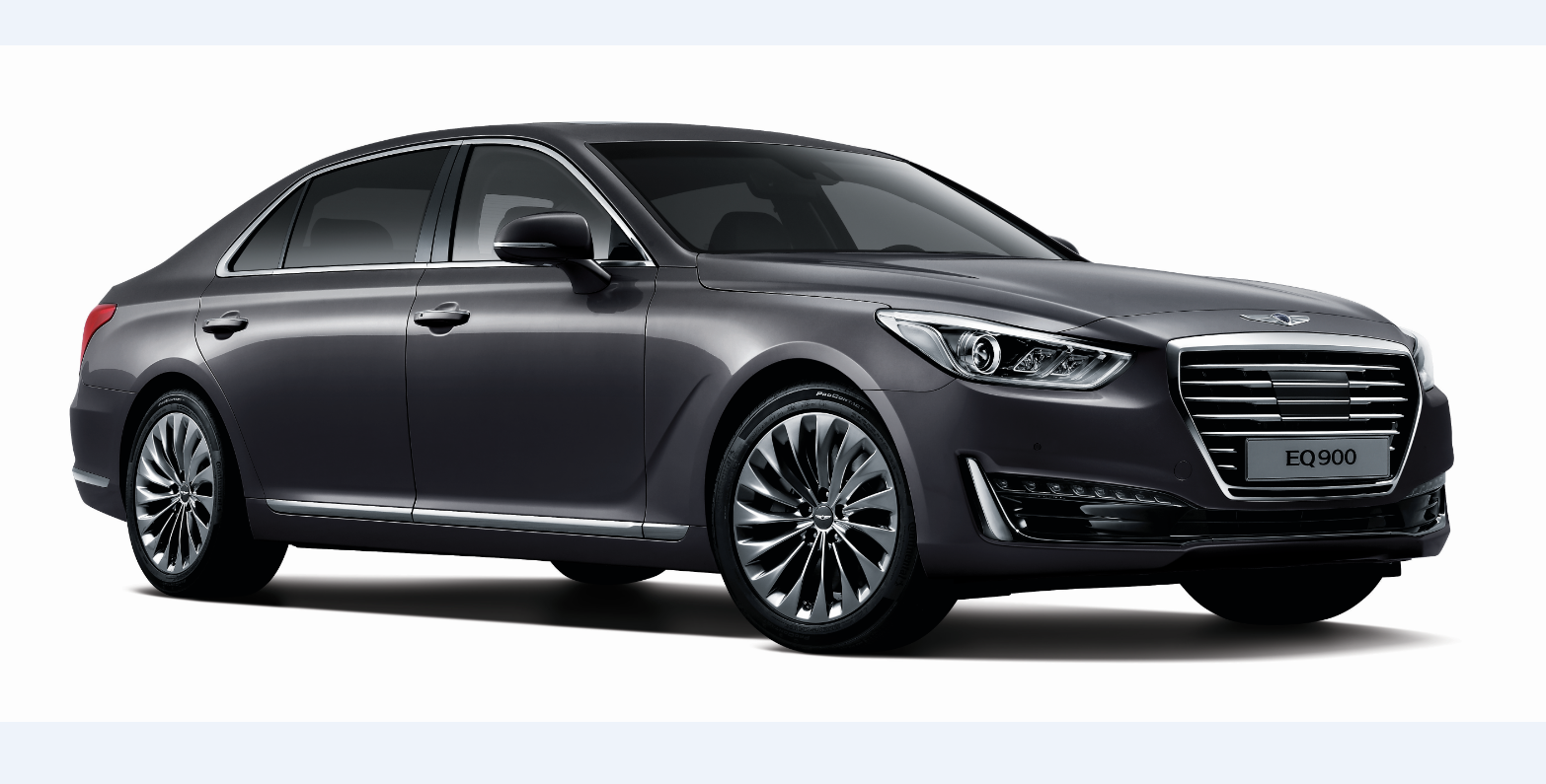 hyundai 39 s genesis brand launches its first model meet the g90 autoevolution. Black Bedroom Furniture Sets. Home Design Ideas