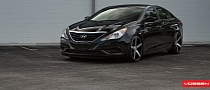 Hyundai Sonata Gets Vossen Concave Wheels [Photo Gallery]
